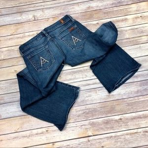 7 For All Mankind Jeans - 7 For All Mankind A Pocket Bootcut Jeans Petite